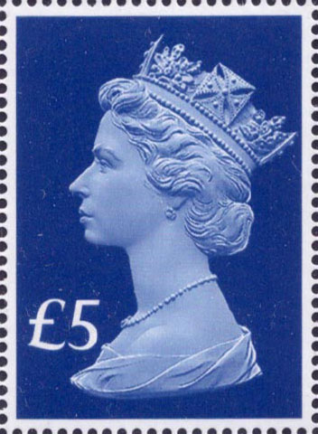 £5 65th Anniversary of Queens Accession